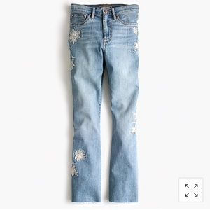 *NWT* J. Crew Point Sur Cropped Jeans